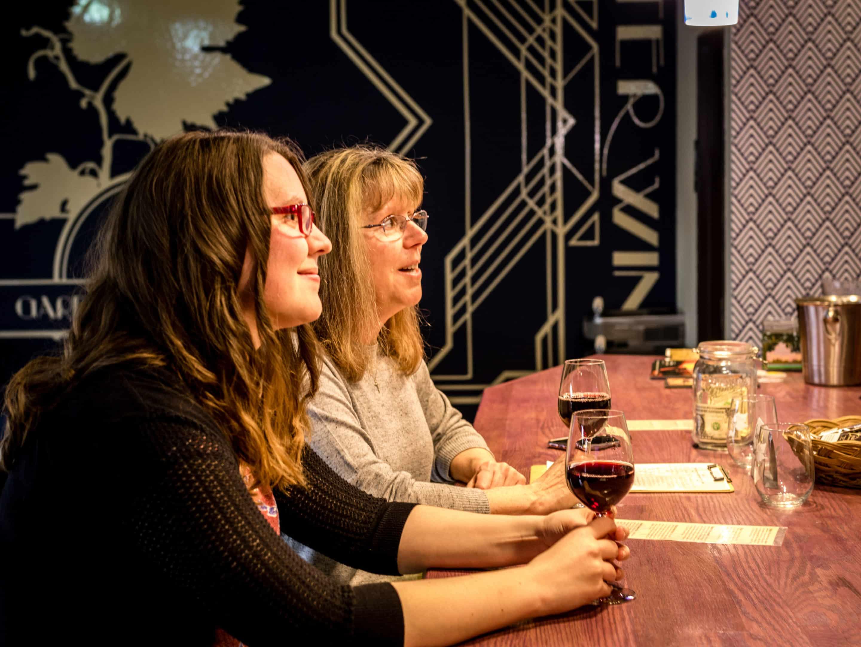Wine tasting Potter Wines